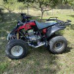 Verhuur van de Quad 250 cc